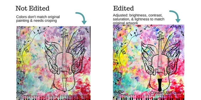 how to edit your artwork