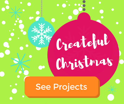 Christmas Art Projects for Kids | Createful Christmas for Kids