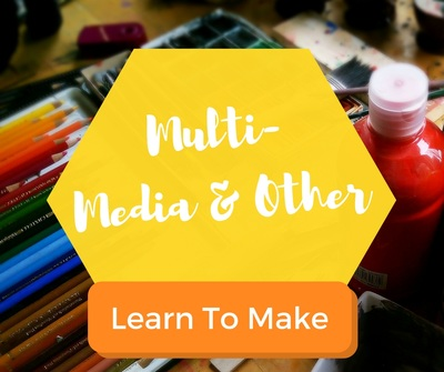 Pottery, Crafts, and multi-media art lessons for kids