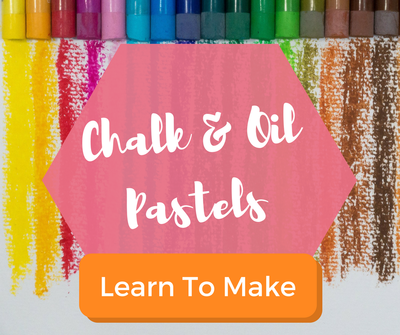 Chalk and oil pastel lessons for kids.