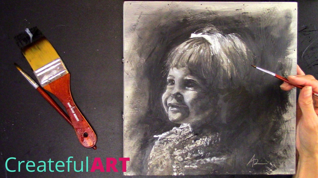 how to paint portraits with oil paints