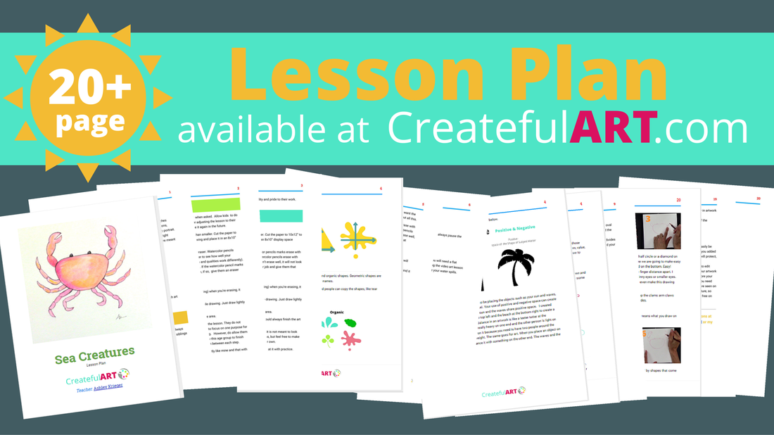 the elements of art shape lesson plan