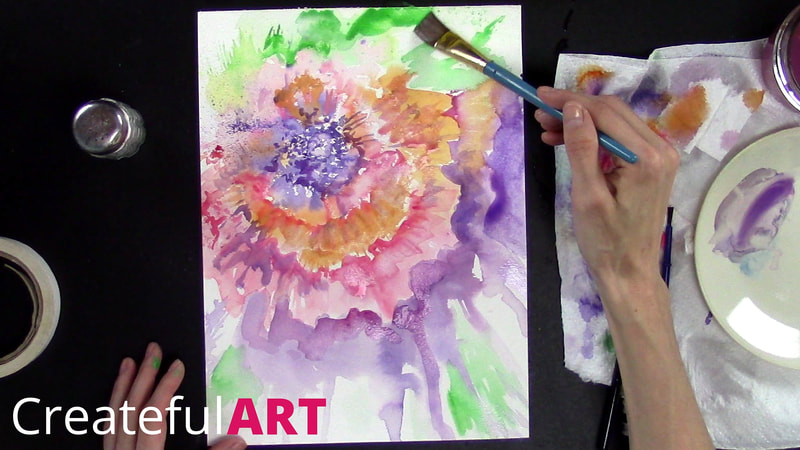 how to get started with watercolors
