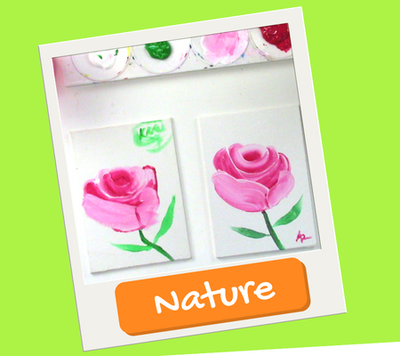 nature drawings and paintings for kids