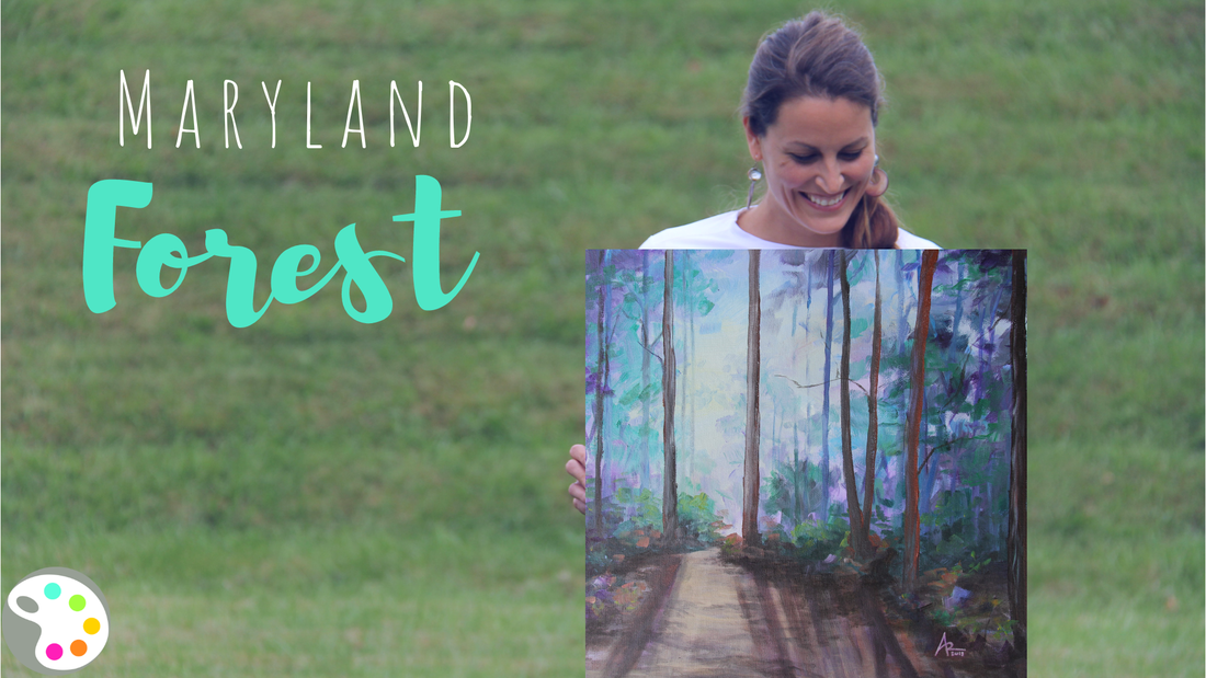 Maryland Painting | Forest Painting