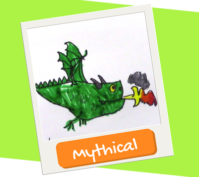 mythical creature drawing and painting for kids