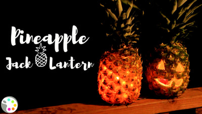 How to Carve a Pineapple Jack-o'-Lantern | Halloween Decor